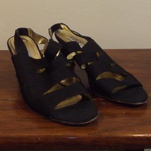 Paoloma Made In Italy Black Heels Size 9.5